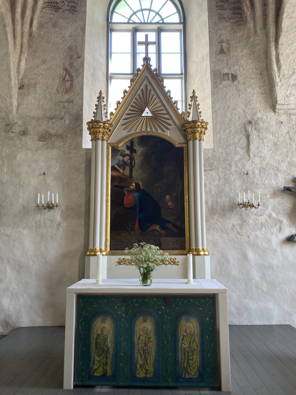 the altar painting