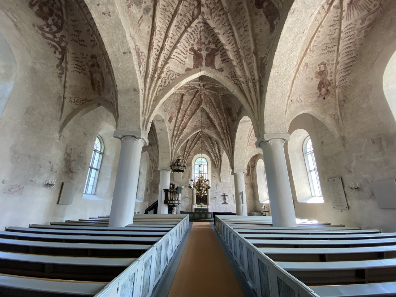 St. Peter´s church from the inside